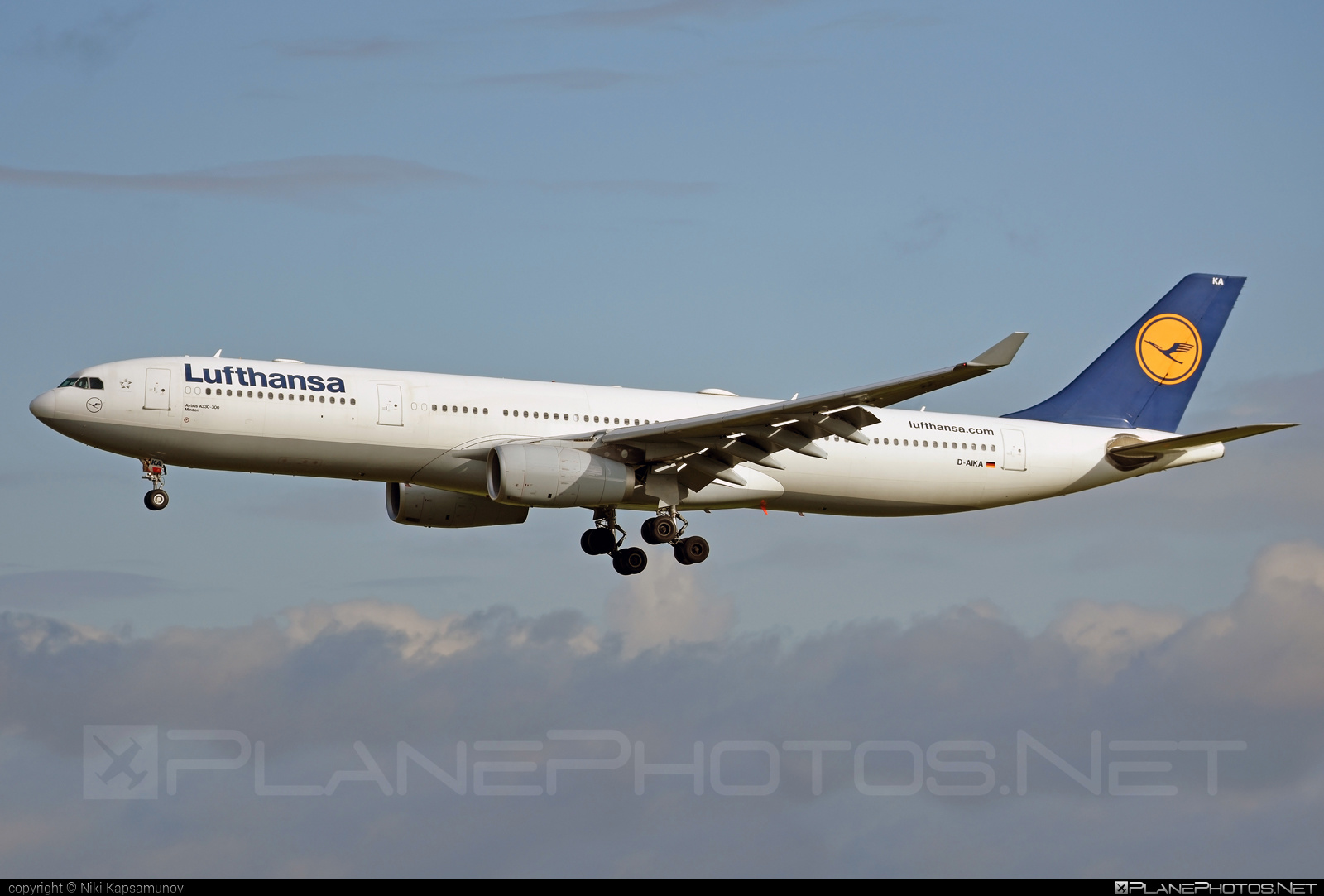 Airbus A330-343 - D-AIKA operated by Lufthansa #a330 #a330family #airbus #airbus330 #lufthansa