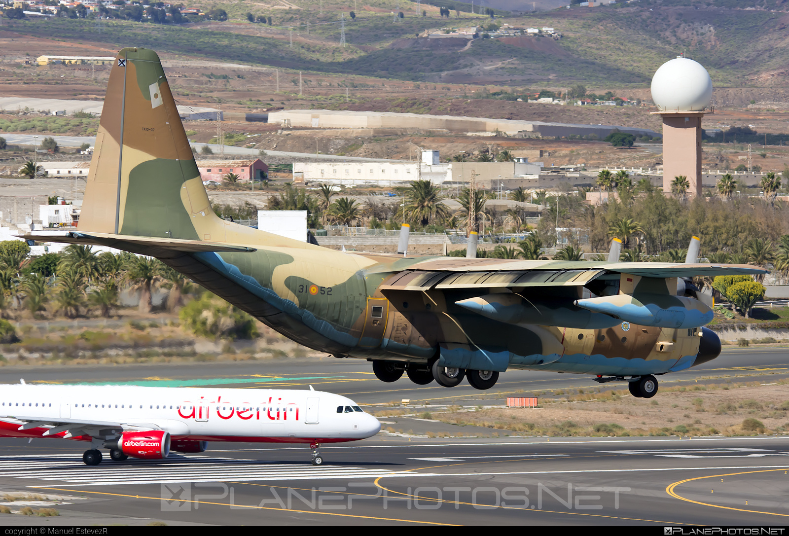 Lockheed C-130H Hercules - TK.10-07 operated by Ejército del Aire (Spanish Air Force) #ejercitodelaire #lockheed #spanishairforce