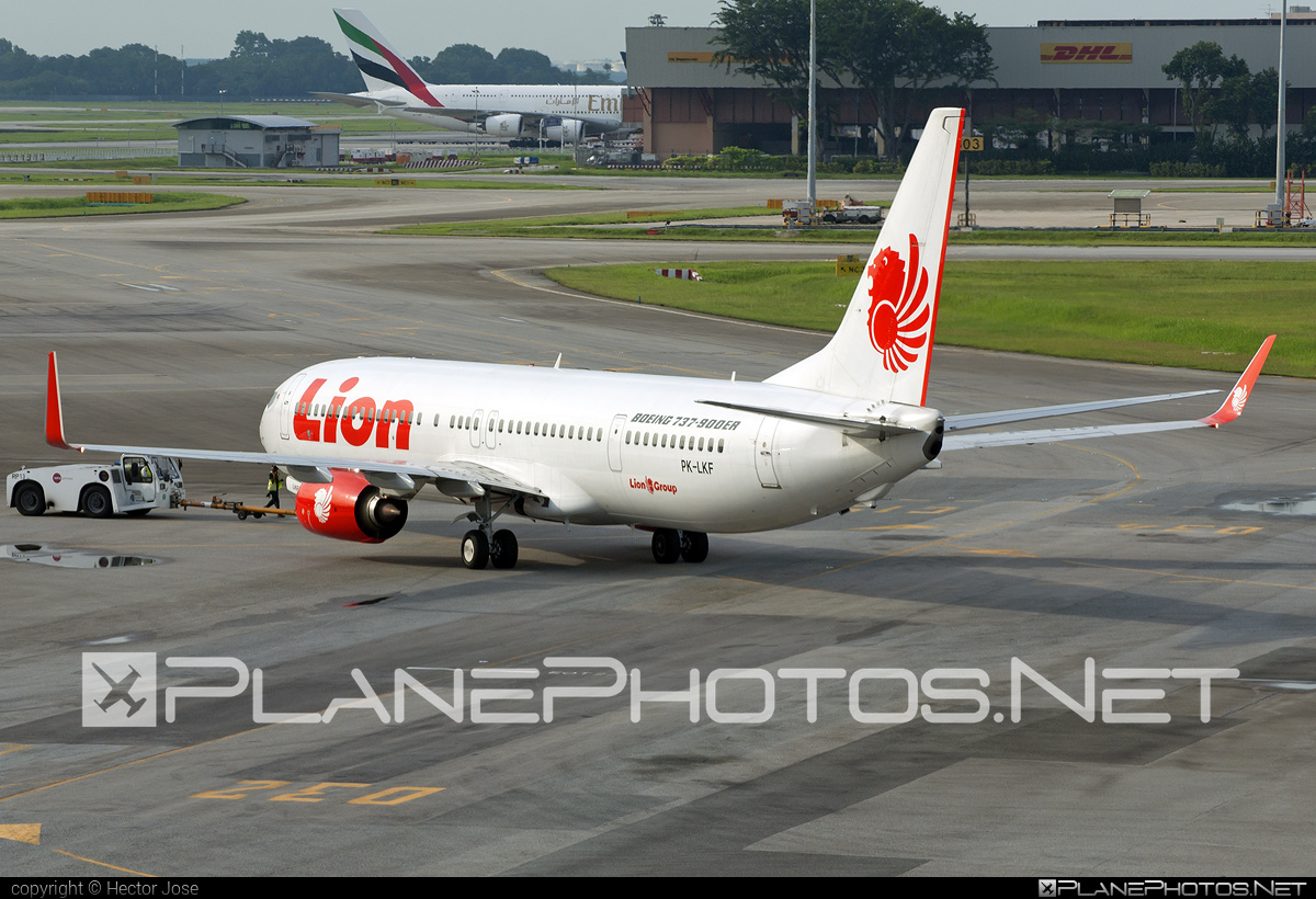 Boeing 737-900ER - PK-LKF operated by Lion Air #b737 #b737er #b737nextgen #b737ng #boeing #boeing737