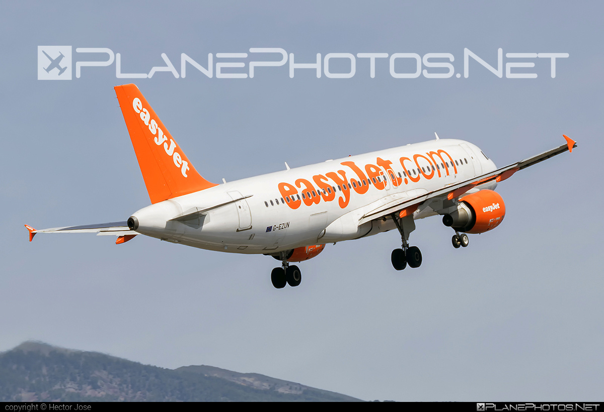 Airbus A320-214 - G-EZUN operated by easyJet #a320 #a320family #airbus #airbus320 #easyjet