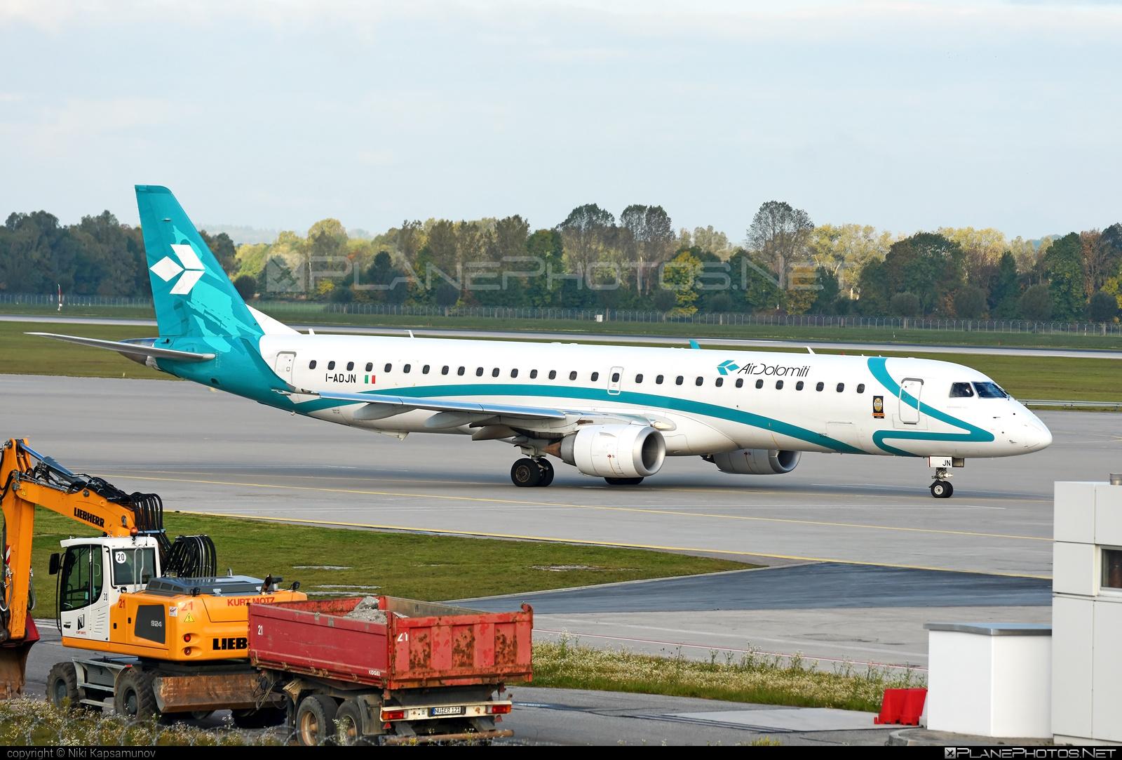 Air Dolomiti Embraer 190-200LR - I-ADJN #embraer