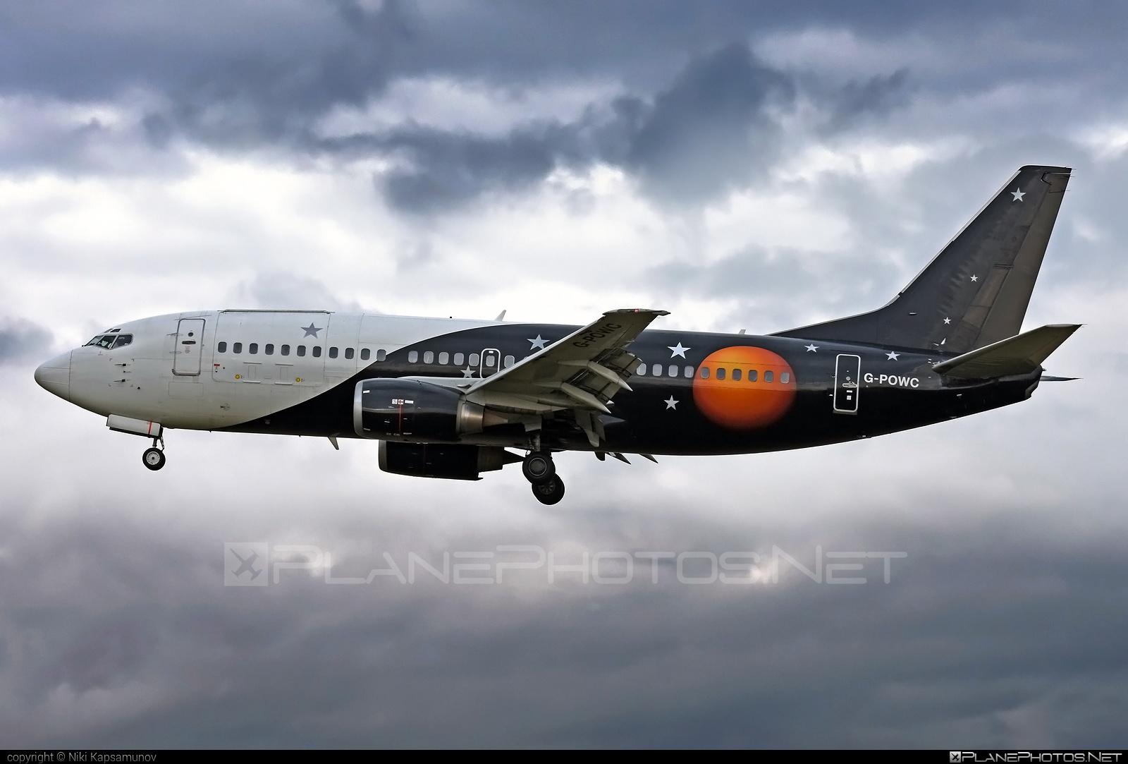 Boeing 737-300QC - G-POWC operated by Titan Airways #b737 #b737qc #boeing #boeing737 #titanairways
