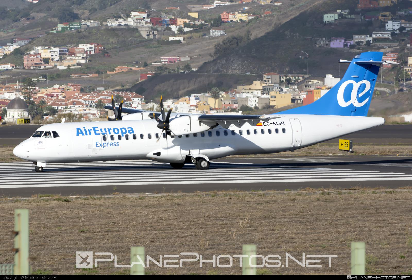 ATR 72-212A - EC-MSN operated by Air Europa Express #atr
