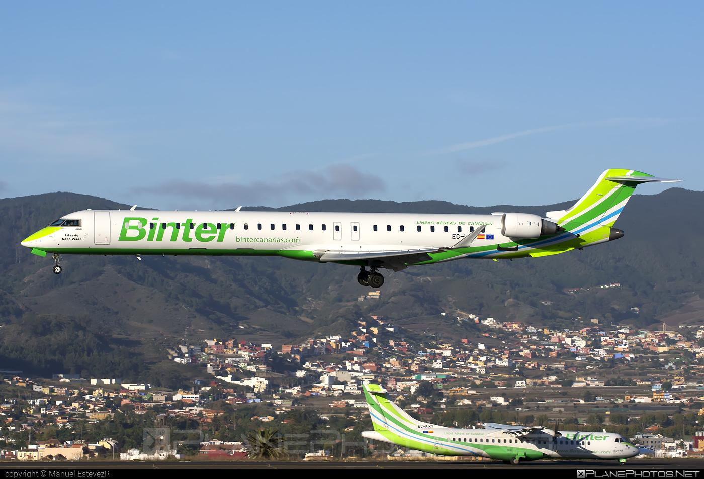 Binter Canarias Bombardier CRJ1000 NextGen - EC-LOV #bombardier #crj1000 #crj1000nextgen #crj1000ng
