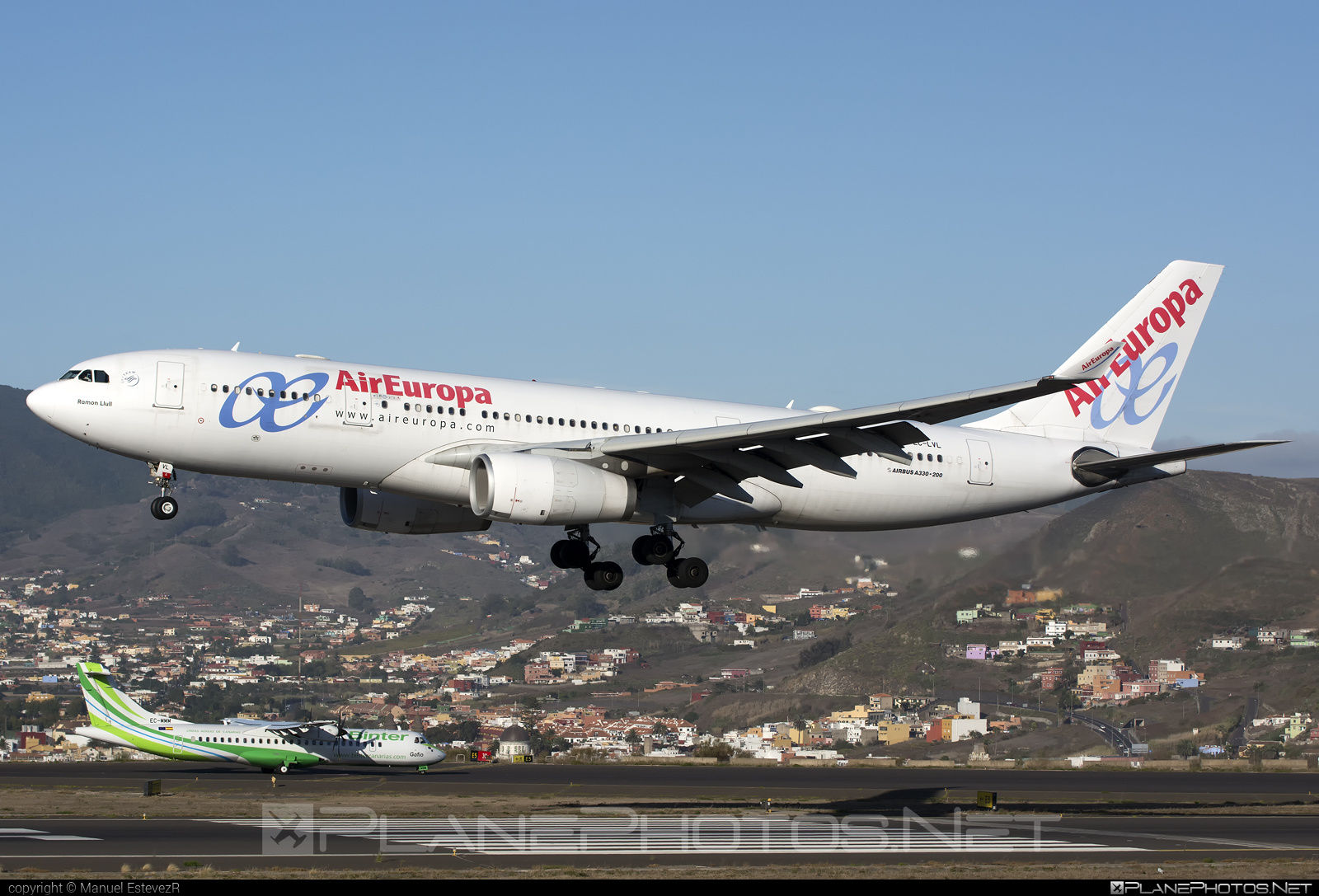 Airbus A330-243 - EC-LVL operated by Air Europa #a330 #a330family #airbus #airbus330