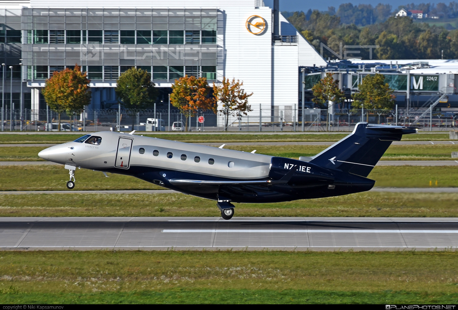 Embraer Legacy 500 (EMB-550) - N721EE operated by Embraer Executive Aircraft, Inc. #emb550 #embraer #embraer550 #embraerlegacy #legacy500