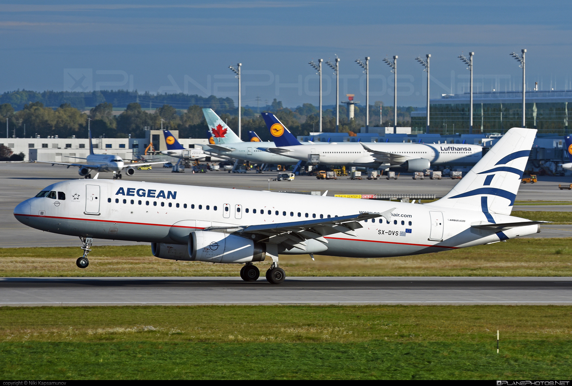 Airbus A320-232 - SX-DVS operated by Aegean Airlines #a320 #a320family #airbus #airbus320