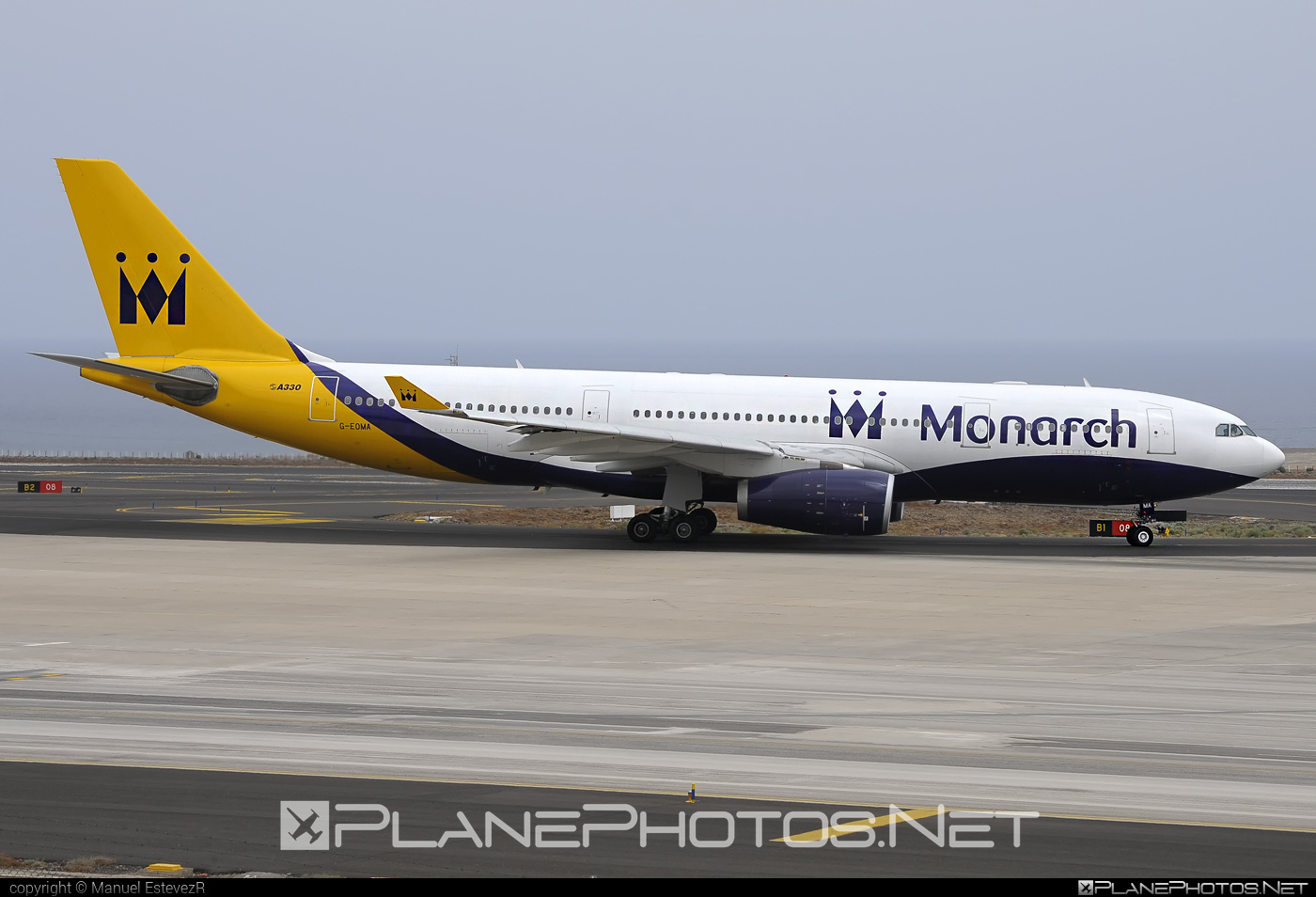 Airbus A330-243 - G-EOMA operated by Monarch Airlines #a330 #a330family #airbus #airbus330