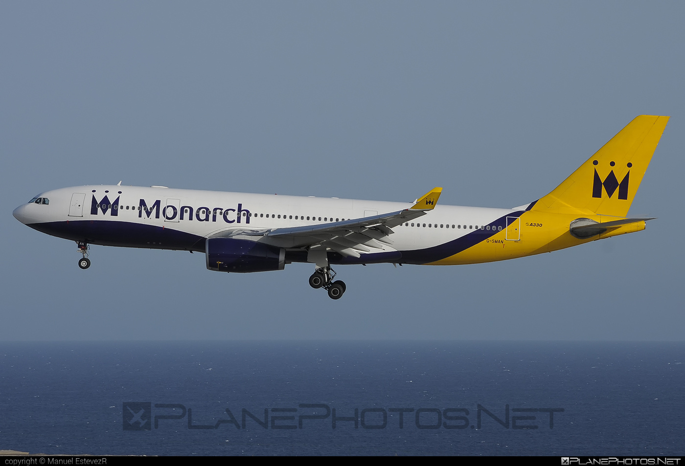 Airbus A330-243 - G-SMAN operated by Monarch Airlines #a330 #a330family #airbus #airbus330