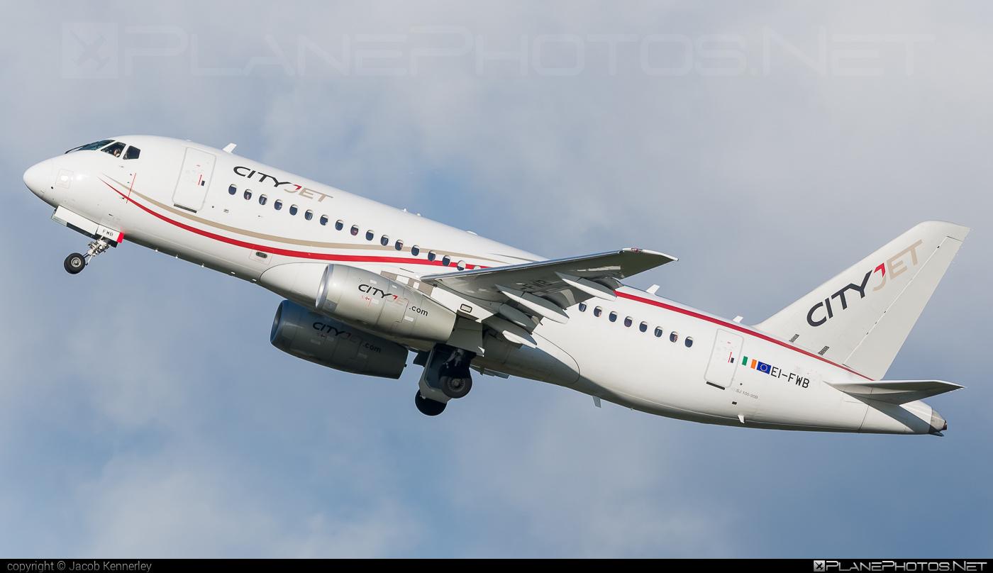 Sukhoi SSJ 100-95B Superjet - EI-FWB operated by CityJet #ssj100 #ssj10095b #sukhoi #sukhoisuperjet #superjet