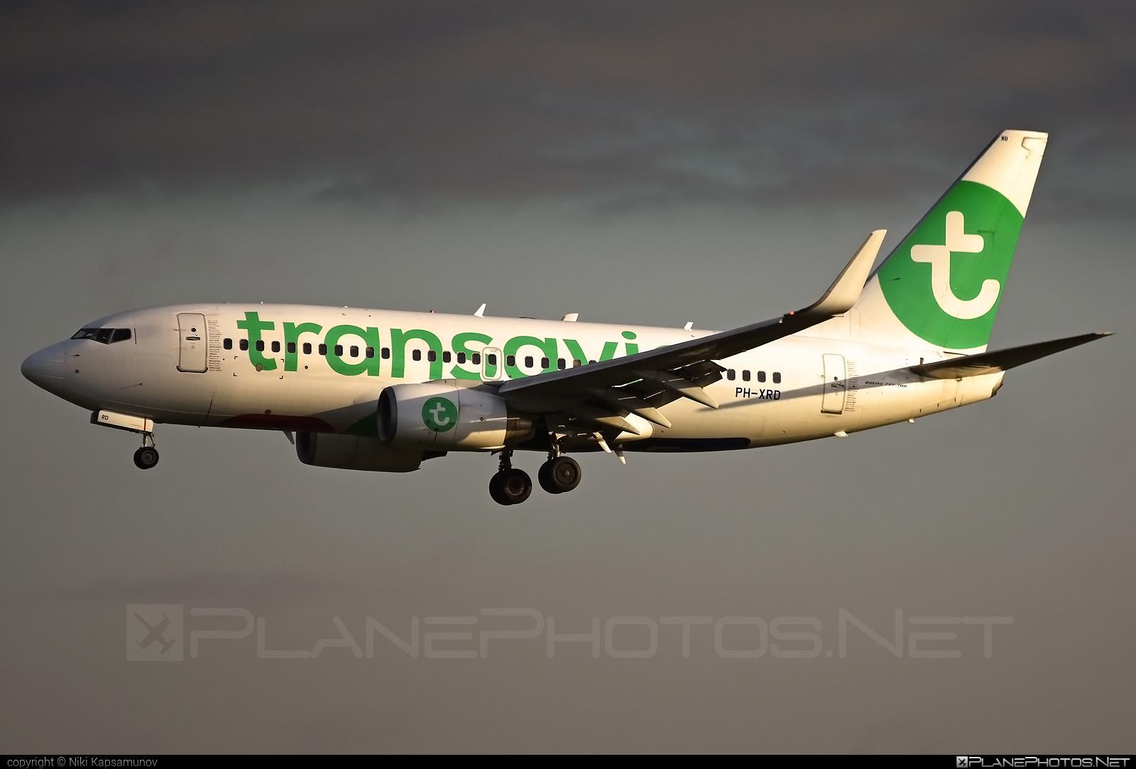 Transavia Airlines Boeing 737-700 - PH-XRD #b737 #b737nextgen #b737ng #boeing #boeing737 #transavia #transaviaairlines