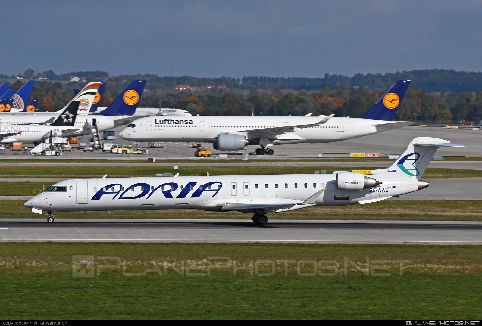 Bombardier CRJ900LR - S5-AAU operated by Adria Airways #bombardier #crj900 #crj900lr