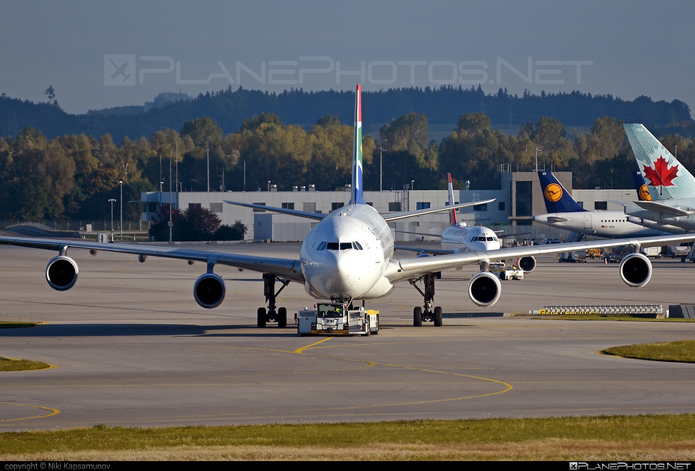 Airbus A340-313E - ZS-SXA operated by South African Airways #a340 #a340family #airbus #airbus340