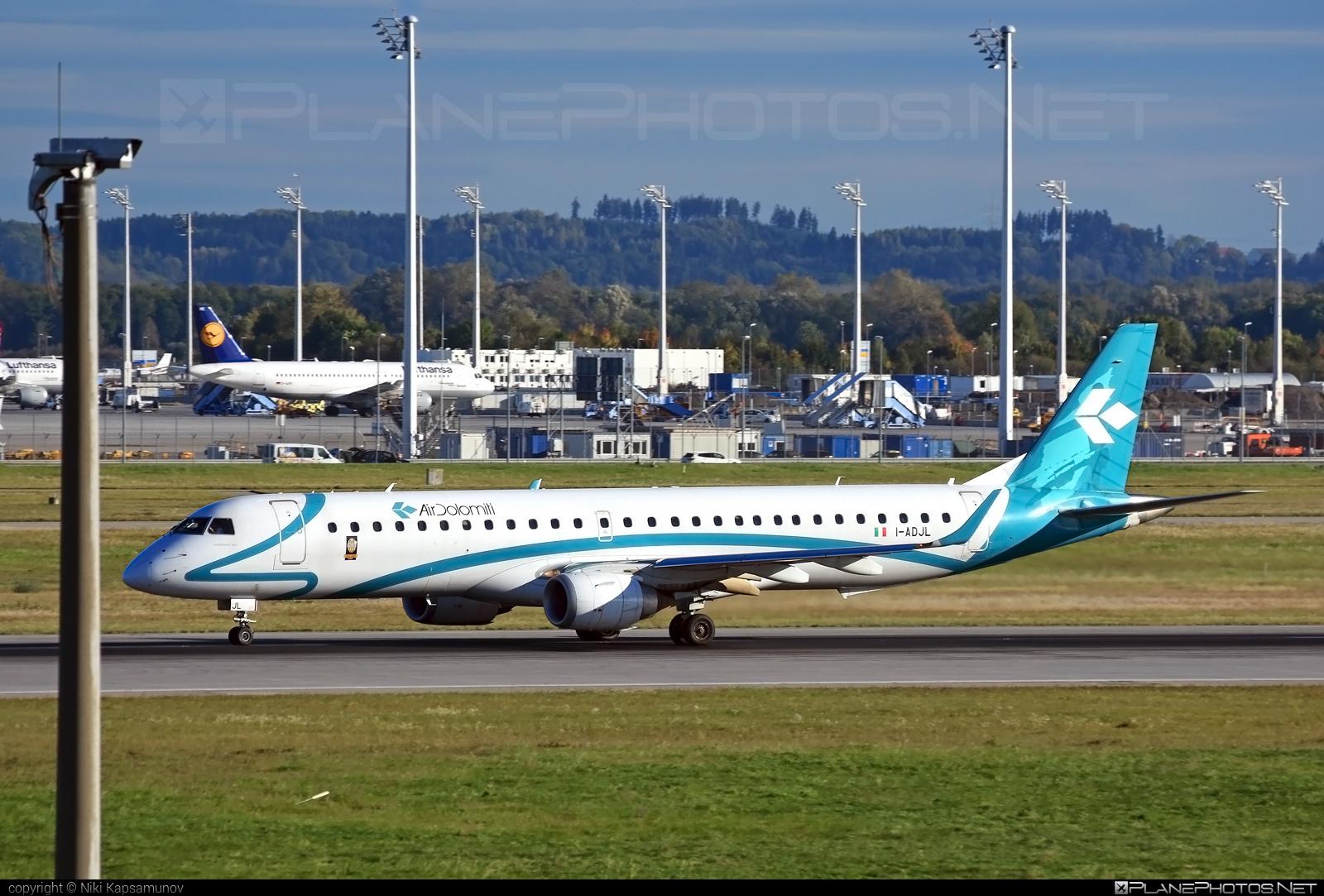 Embraer E195LR (ERJ-190-200LR) - I-ADJL operated by Air Dolomiti #airdolomiti #e190 #e190200 #e190200lr #e195lr #embraer #embraer190200lr #embraer195 #embraer195lr