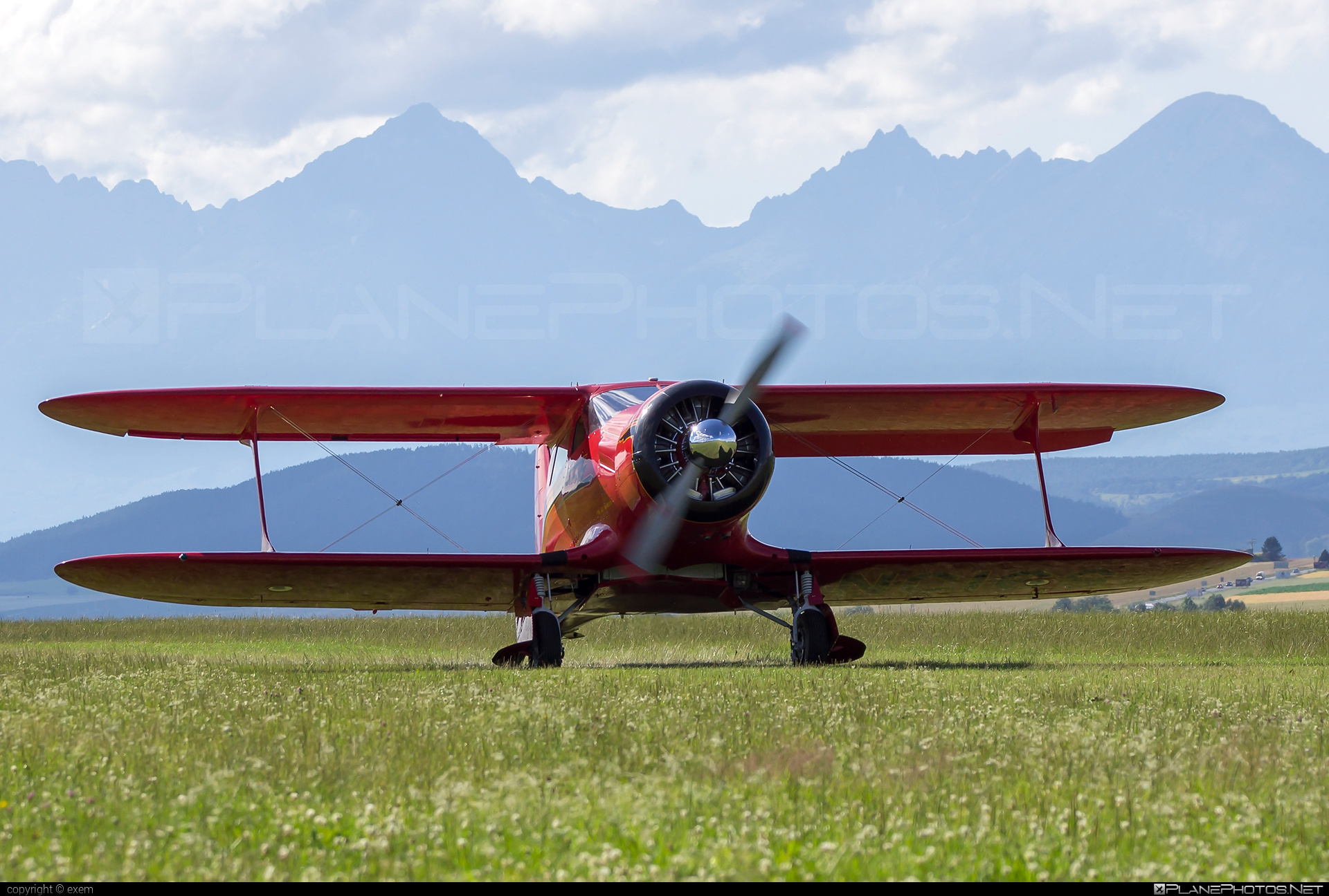 Beechcraft D17S Staggerwing - N16S operated by Private operator #beech17 #beechcraft #staggerwing #theredrockette