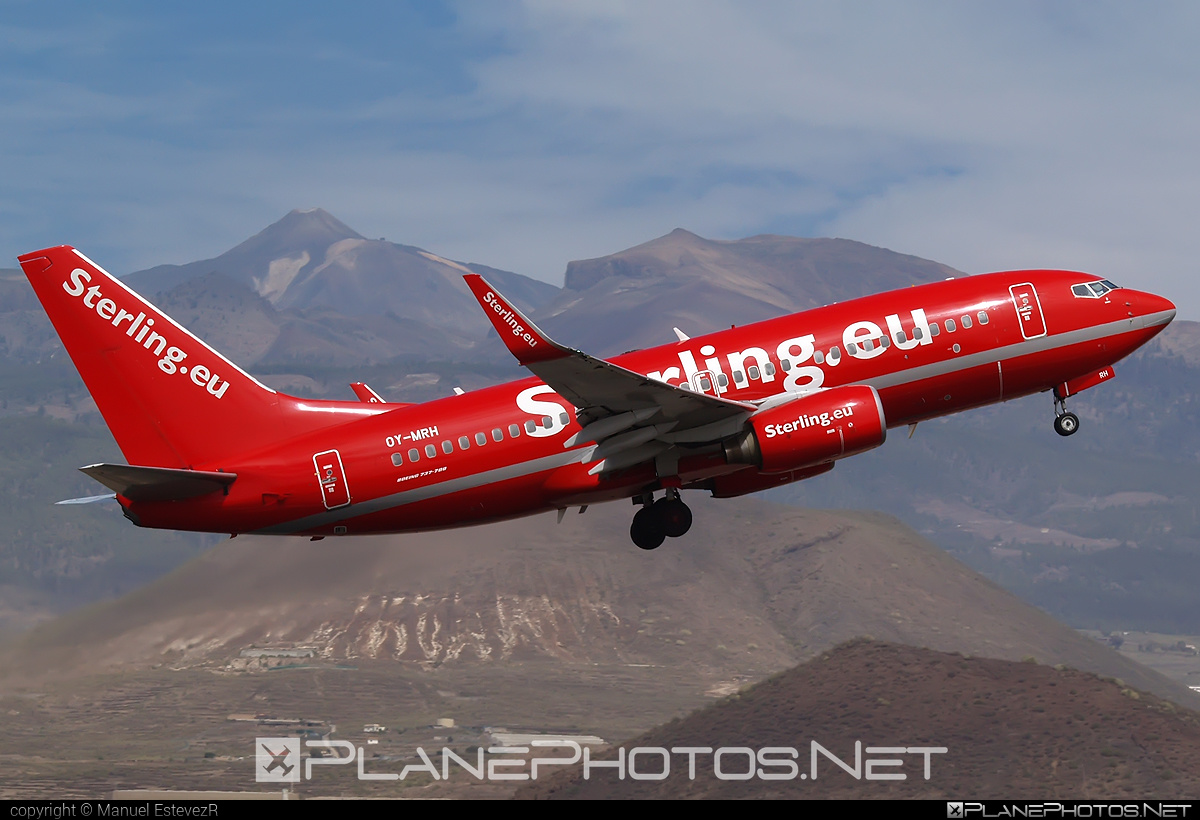 Boeing 737-700 - OY-MRH operated by Sterling Airlines #b737 #b737nextgen #b737ng #boeing #boeing737