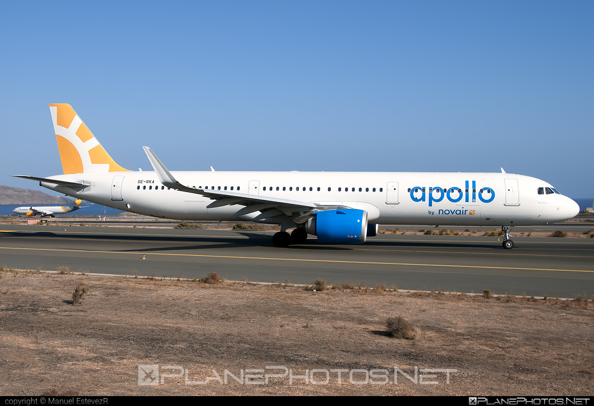 Airbus A321-253N - SE-RKA operated by Novair #a320family #a321 #a321neo #airbus #airbus321