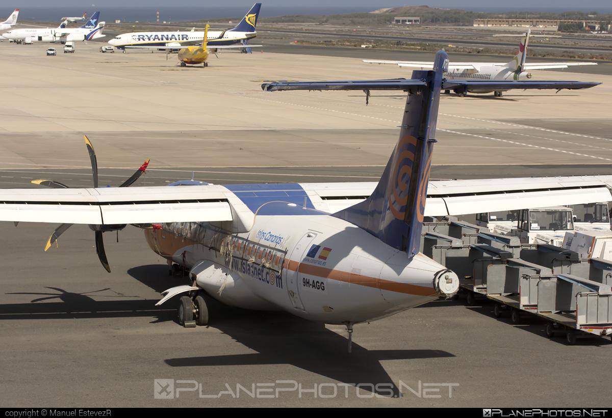 Islas Airways ATR 72-212A - 9H-AGG #atr
