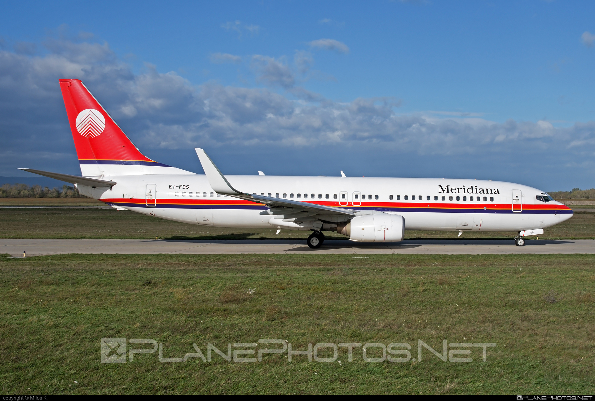 Boeing 737-800 - EI-FDS operated by Meridiana #b737 #b737nextgen #b737ng #boeing #boeing737 #meridiana
