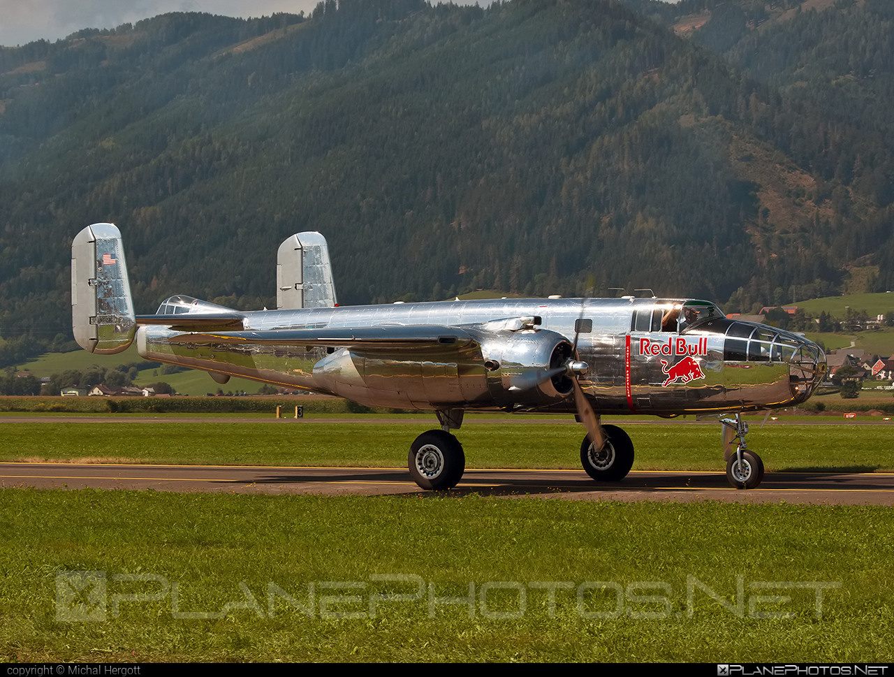 North American B-25J Mitchell - N6123C operated by The Flying Bulls #airpower2016 #b25 #b25j #b25mitchell #northamerican #theflyingbulls