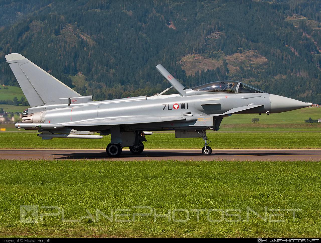 Eurofighter Typhoon S - 7L-WI operated by Österreichische Luftstreitkräfte (Austrian Air Force) #airpower2016 #austrianairforce #eurofighter #typhoon