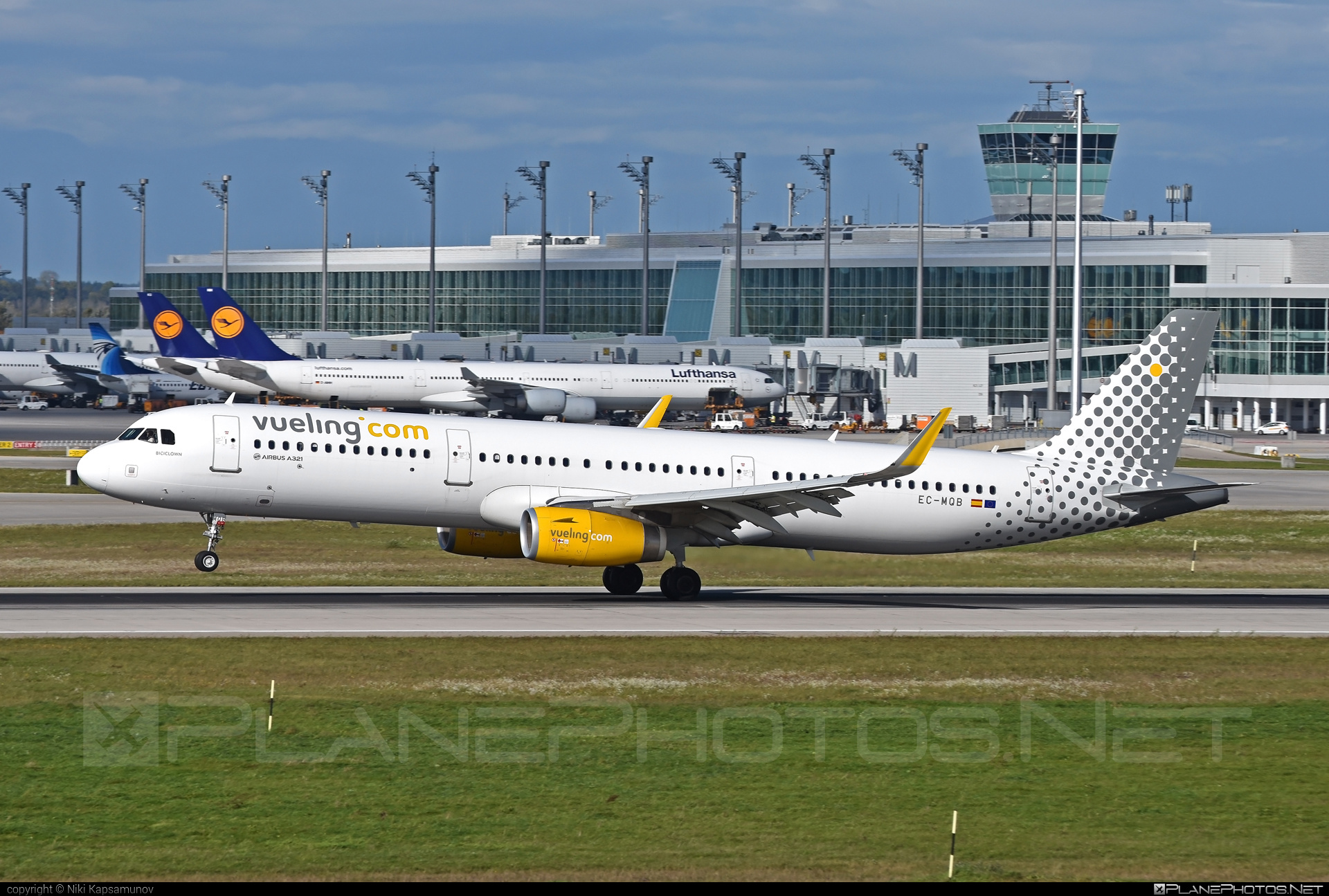 Airbus A321-231 - EC-MQB operated by Vueling Airlines #a320family #a321 #airbus #airbus321 #vueling #vuelingairlines