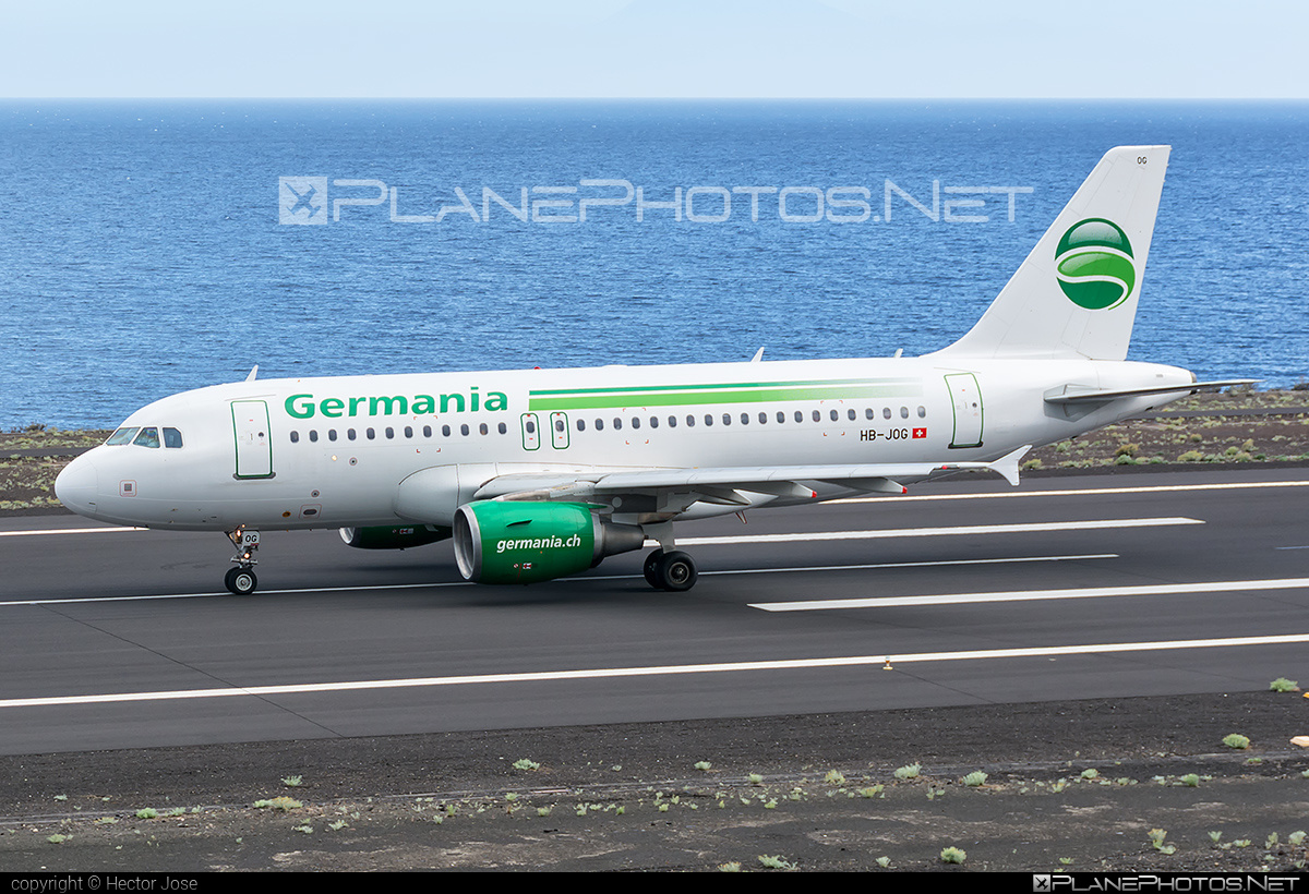 Airbus A319-112 - HB-JOG operated by Germania Flug #a319 #a320family #airbus #airbus319