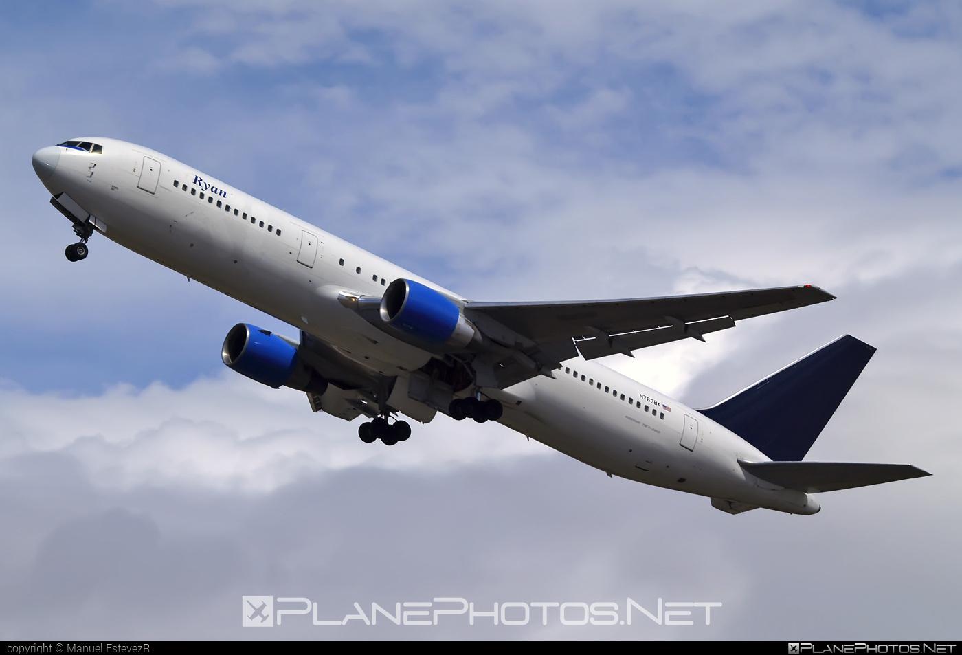 Boeing 767-300ER - N763BK operated by Ryan International Airlines #b767 #b767er #boeing #boeing767