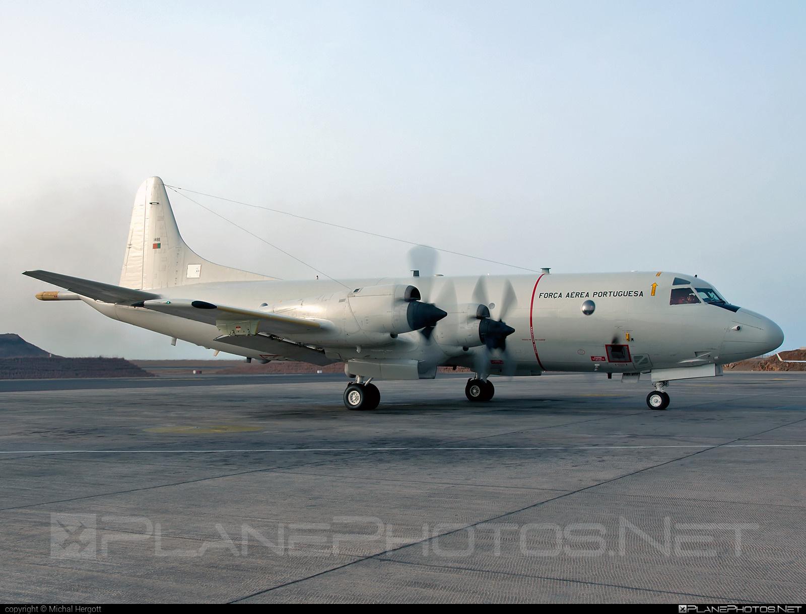 Lockheed P-3C Orion - 14811 operated by Força Aérea Portuguesa (Portuguese Air Force) #lockheed