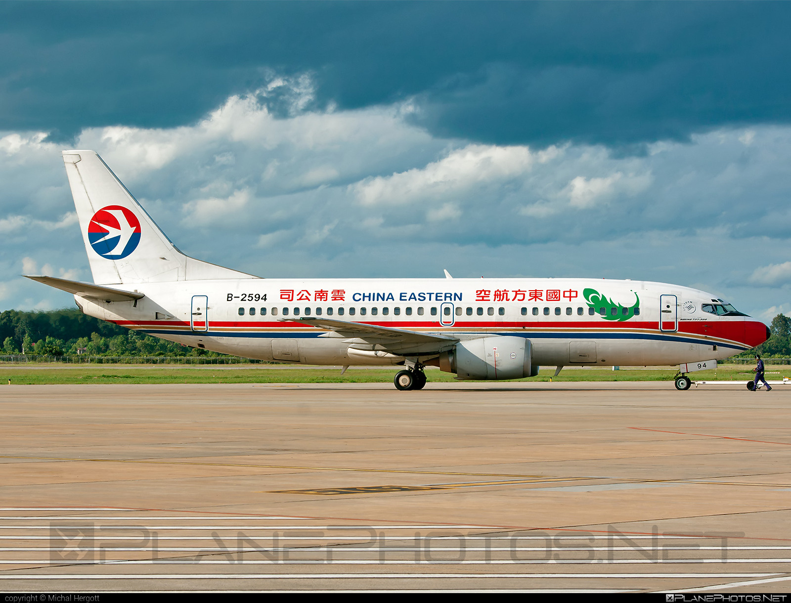 Boeing 737-300 - B-2594 operated by China Eastern Airlines #b737 #boeing #boeing737 #chinaeastern #chinaeasternairlines