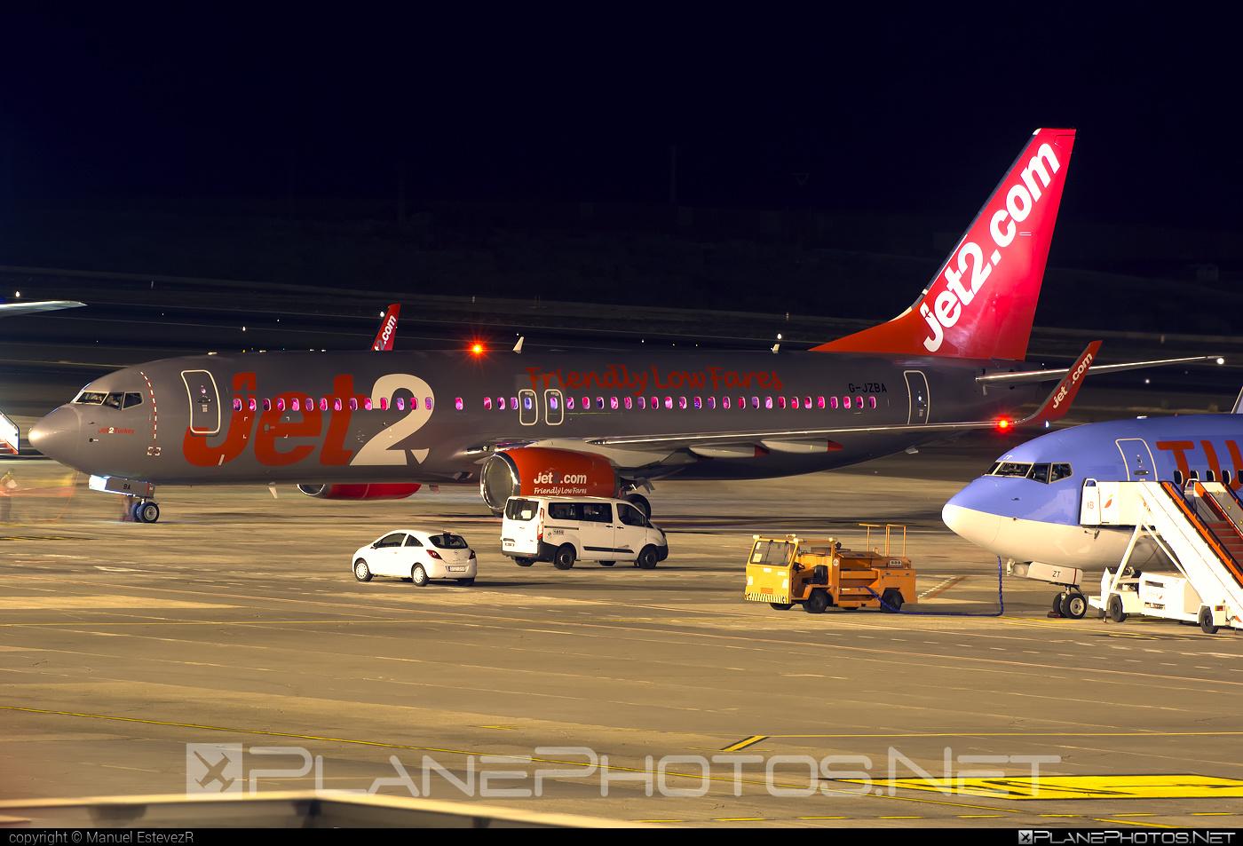 Boeing 737-800 - G-JZBA operated by Jet2 #b737 #b737nextgen #b737ng #boeing #boeing737 #jet2