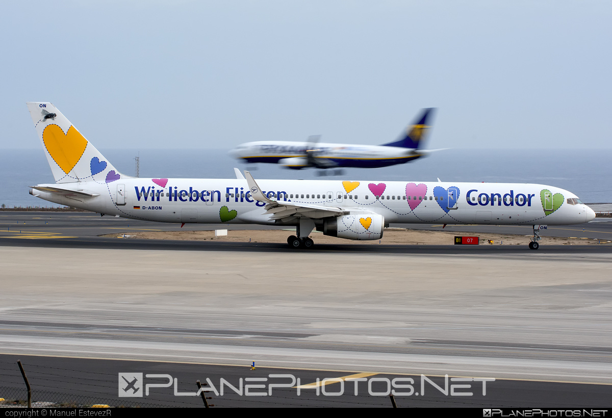 Boeing 757-300 - D-ABON operated by Condor #b757 #boeing #boeing757