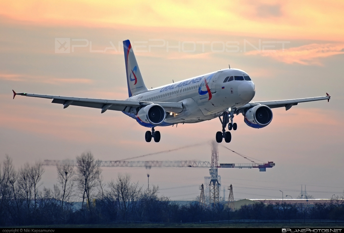 Airbus A320-214 - VP-BQW operated by Ural Airlines #a320 #a320family #airbus #airbus320