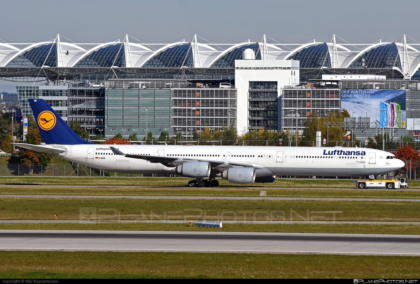 Airbus A340-642 - D-AIHE operated by Lufthansa #a340 #a340family #airbus #airbus340 #lufthansa