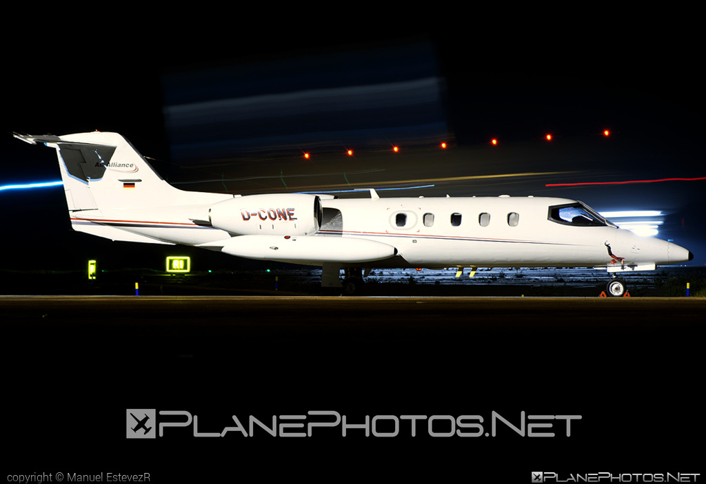 Learjet 35A - D-CONE operated by Air Alliance #airalliance #learjet #learjet35 #learjet35a