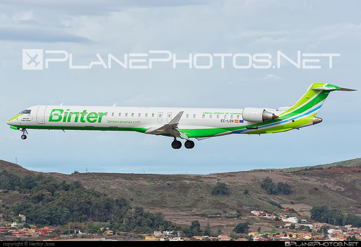 Bombardier CRJ1000 NextGen - EC-LOV operated by Binter Canarias #bombardier #crj1000 #crj1000nextgen #crj1000ng