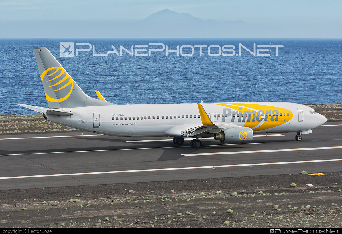 Boeing 737-800 - OY-PSA operated by Primera Air Scandinavia #b737 #b737nextgen #b737ng #boeing #boeing737 #primeraair #primeraairscandinavia