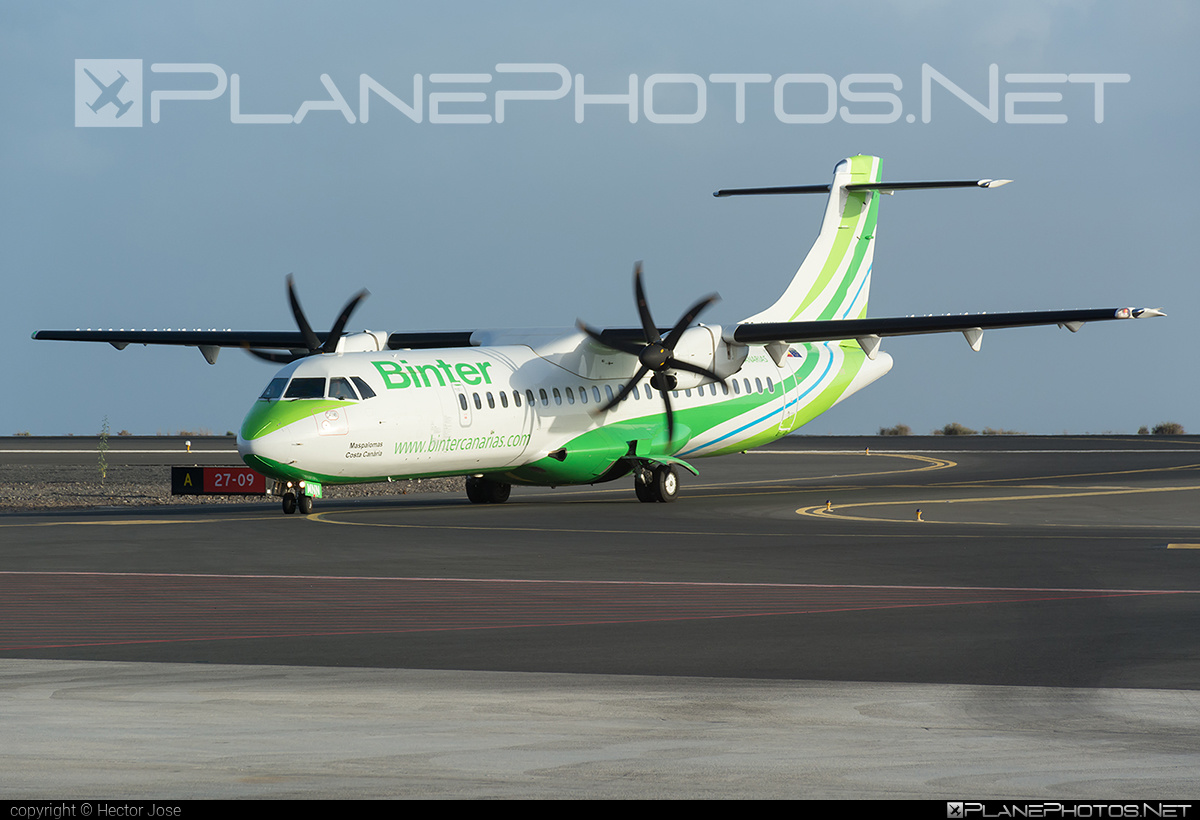 ATR 72-600 - EC-MNN operated by Binter Canarias #atr