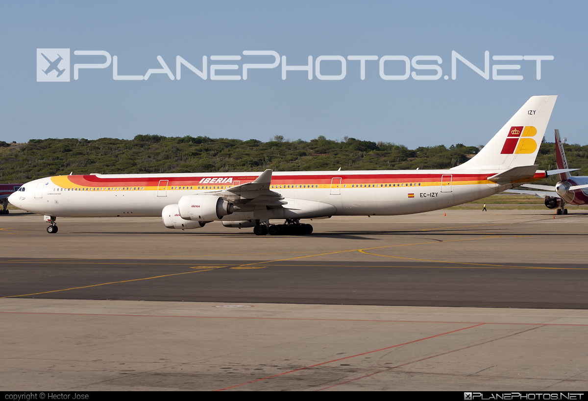 Airbus A340-642 - EC-IZY operated by Iberia #a340 #a340family #airbus #airbus340 #iberia