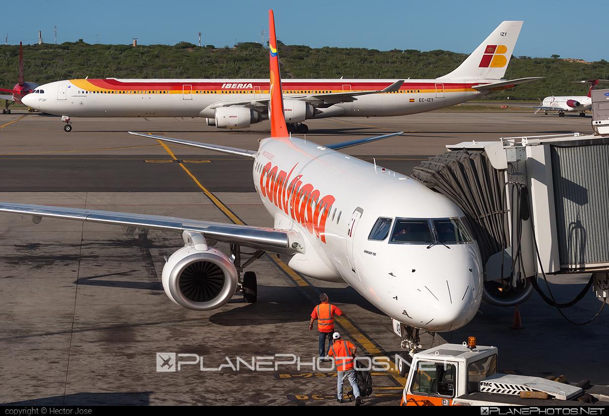 Embraer E190STD (ERJ-190-100STD) - YV2849 operated by Conviasa #e190 #e190100 #e190100std #e190std #embraer #embraer190 #embraer190100std #embraer190std