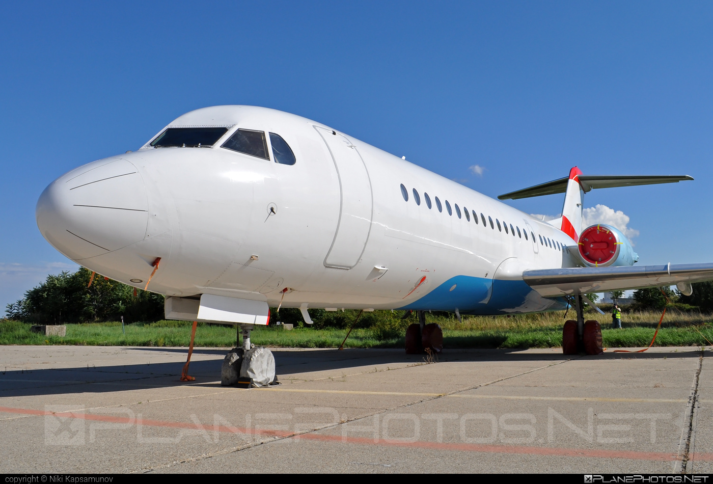 Fokker 70 - OE-LFR operated by Austrian Airlines #fokker