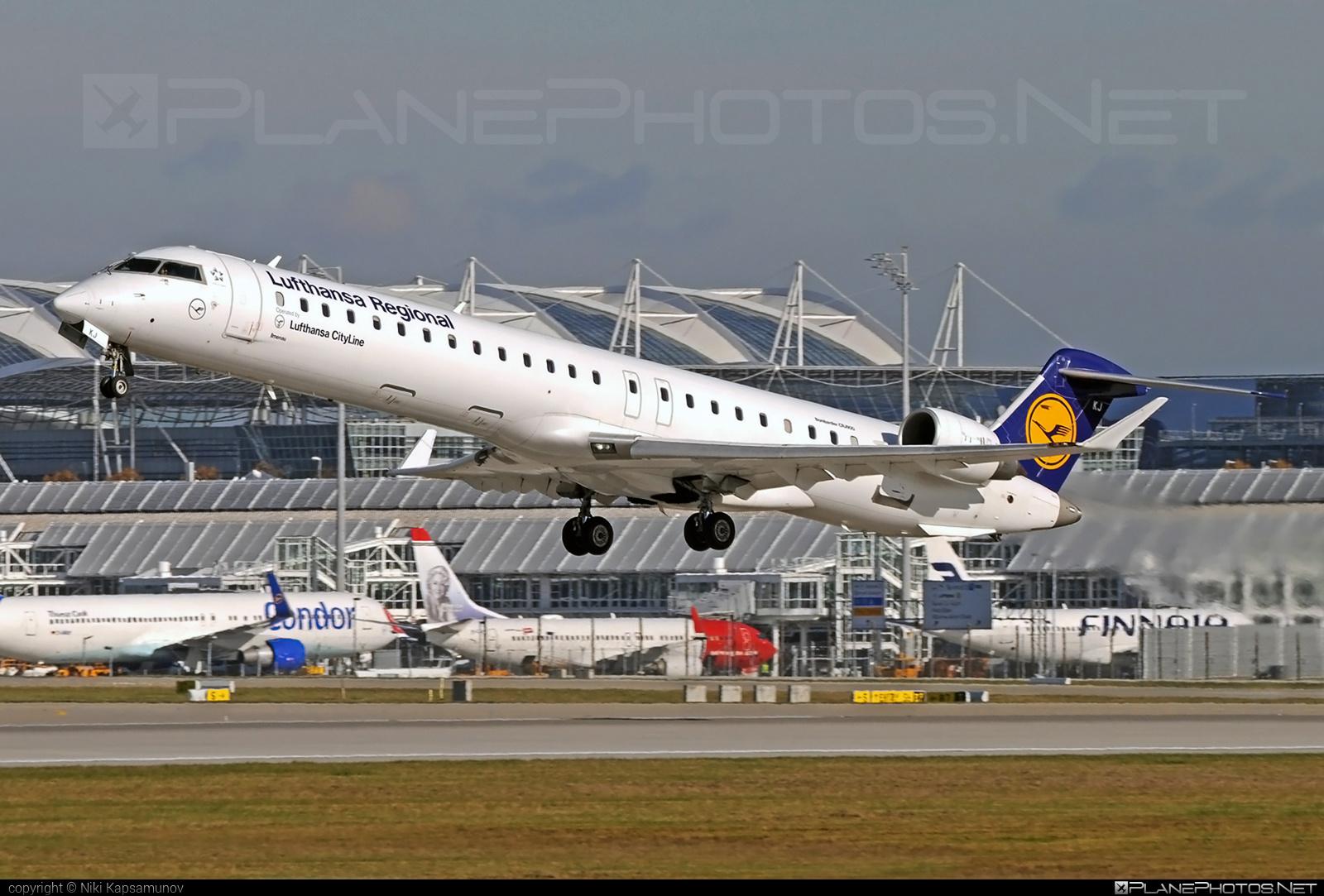 Bombardier CRJ900LR - D-ACKJ operated by Lufthansa CityLine #bombardier #crj900 #crj900lr #lufthansa #lufthansacityline