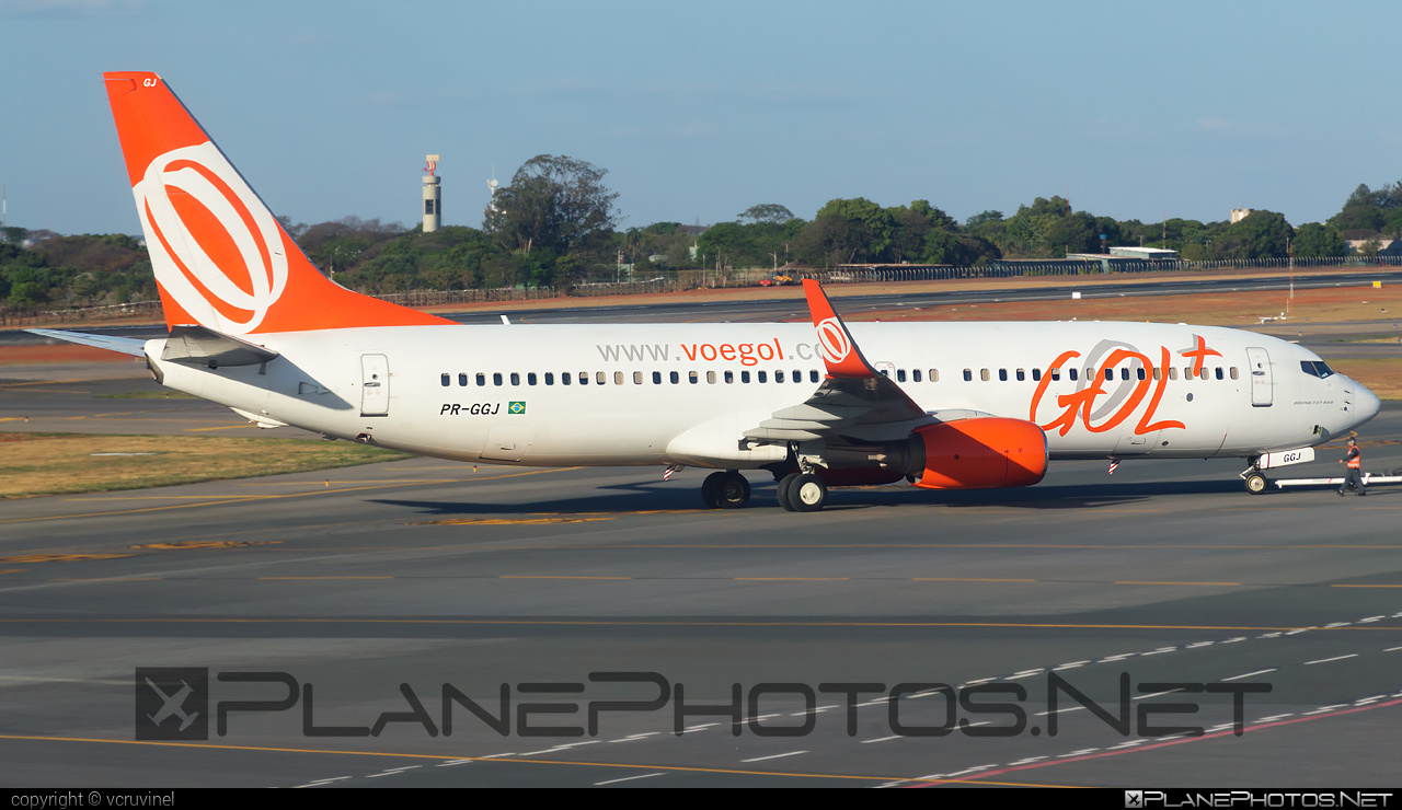 Boeing 737-800 - PR-GGJ operated by GOL Linhas Aéreas Inteligentes #b737 #b737nextgen #b737ng #boeing #boeing737