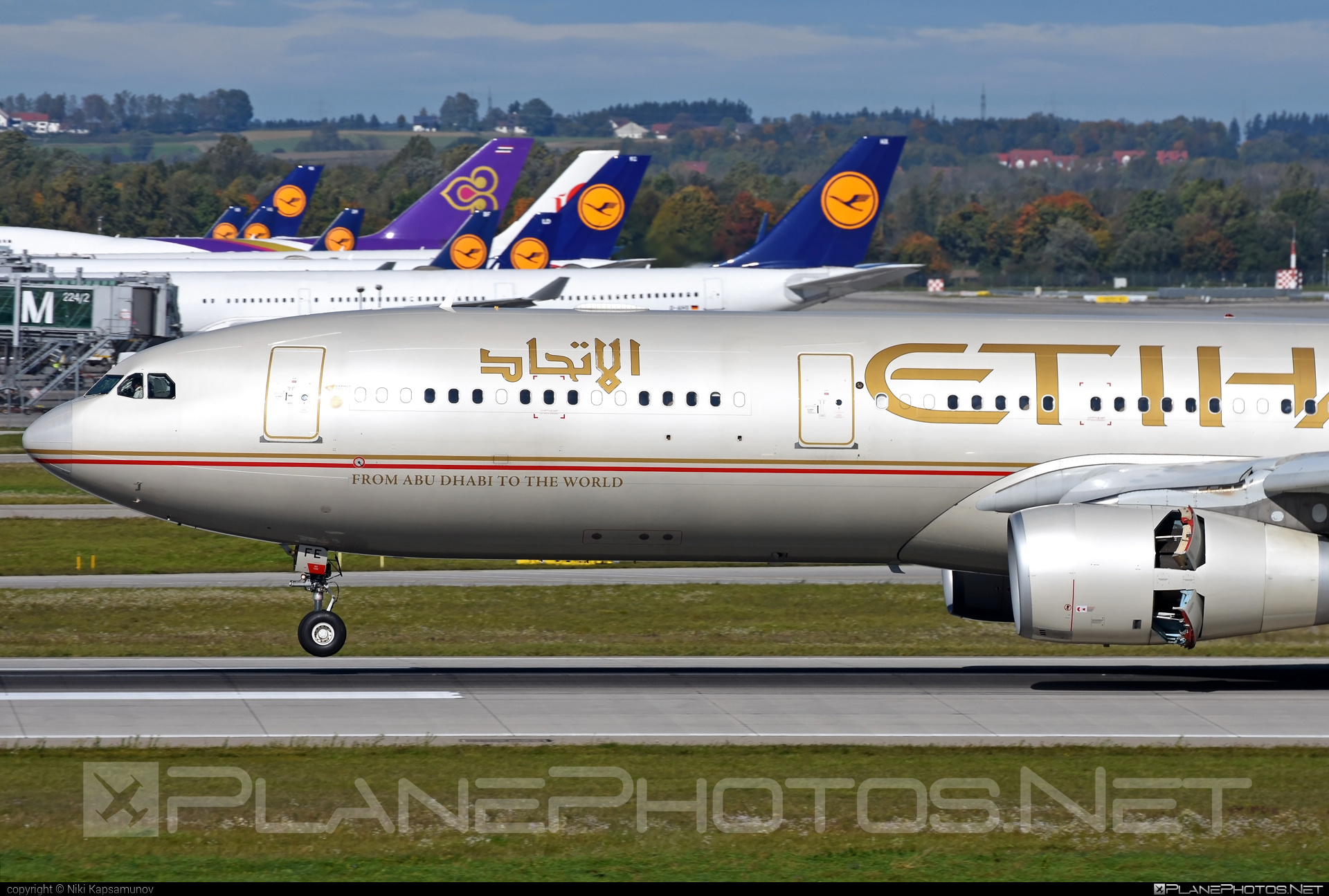 Airbus A330-343 - A6-AFE operated by Etihad Airways #a330 #a330family #airbus #airbus330 #etihad #etihadairways