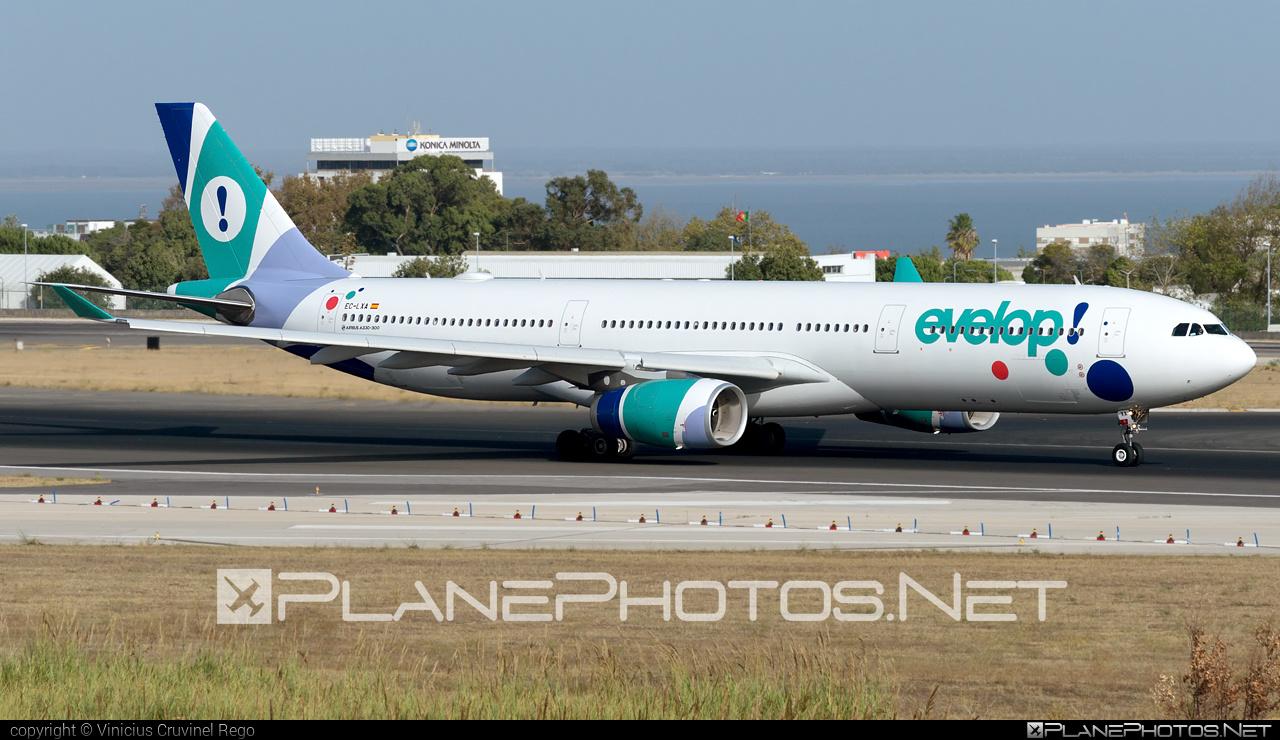 Airbus A330-343 - EC-LXA operated by Evelop Airlines #a330 #a330family #airbus #airbus330