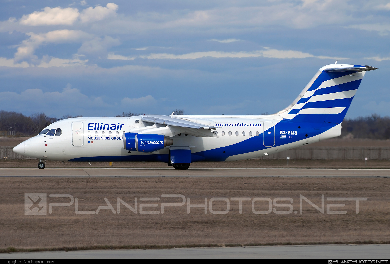 British Aerospace Avro RJ85 - SX-EMS operated by Ellinair #avro146rj85 #avrorj85 #bae146 #britishaerospace