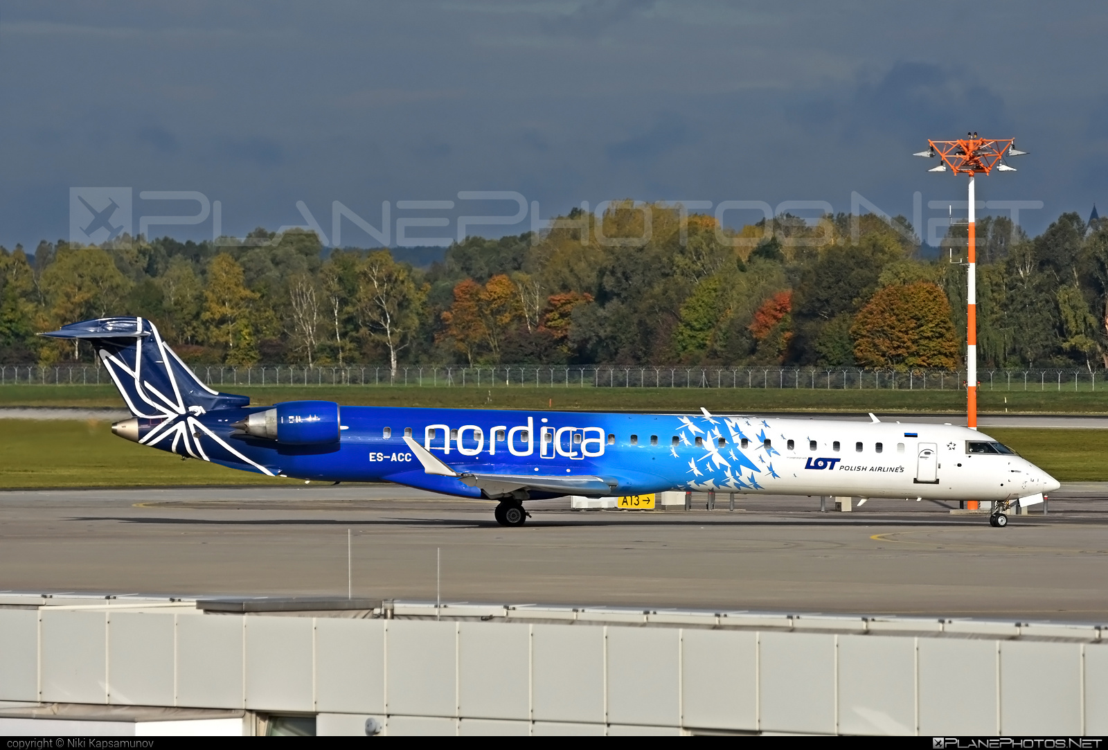 Bombardier CRJ900 - ES-ACC operated by Nordica #bombardier #crj900