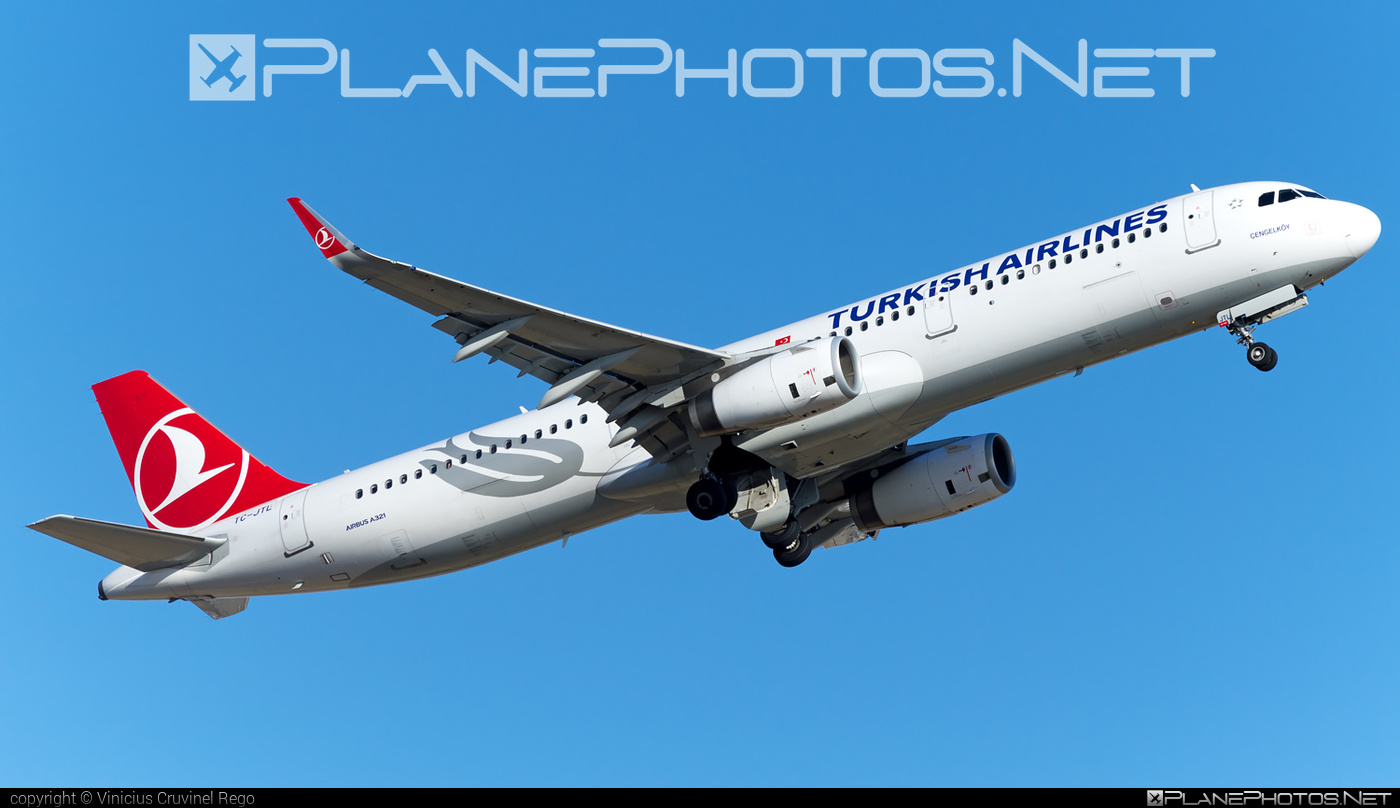 Airbus A321-231 - TC-JTL operated by Turkish Airlines #a320family #a321 #airbus #airbus321 #turkishairlines