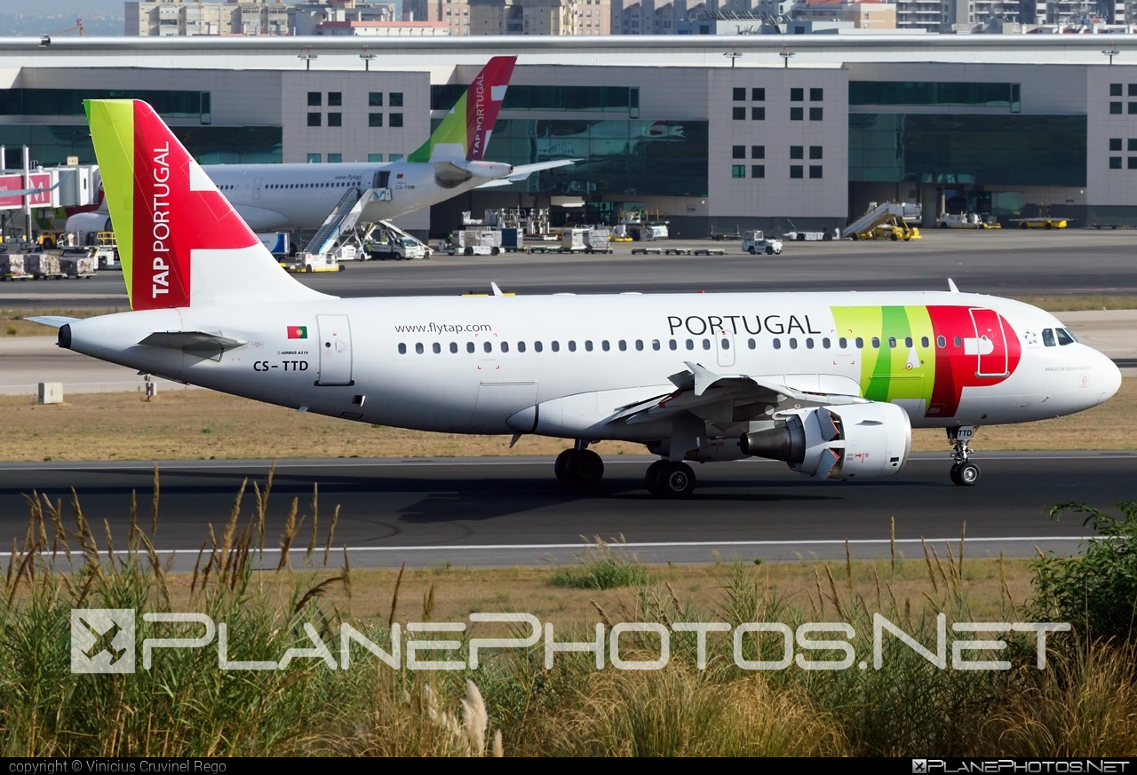 Airbus A319-111 - CS-TTD operated by TAP Portugal #a319 #a320family #airbus #airbus319