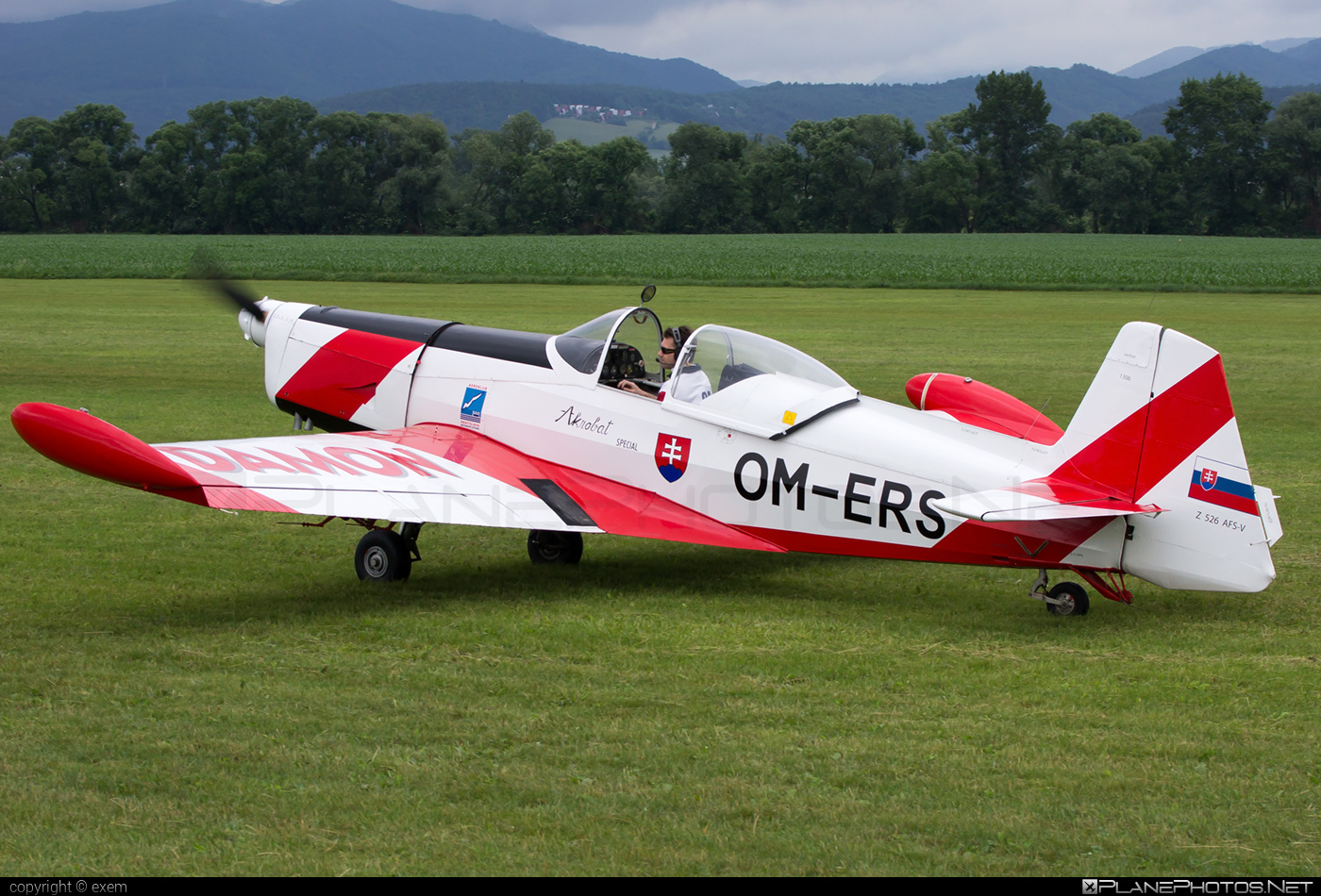 Aeroklub Bratislava Zlin Z-526AFS-V Akrobat Speciál - OM-ERS #akrobatspecial #kratas #z526 #z526akrobatspecial #zlin #zlin526